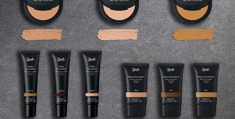 Foundation Sleek Makeup