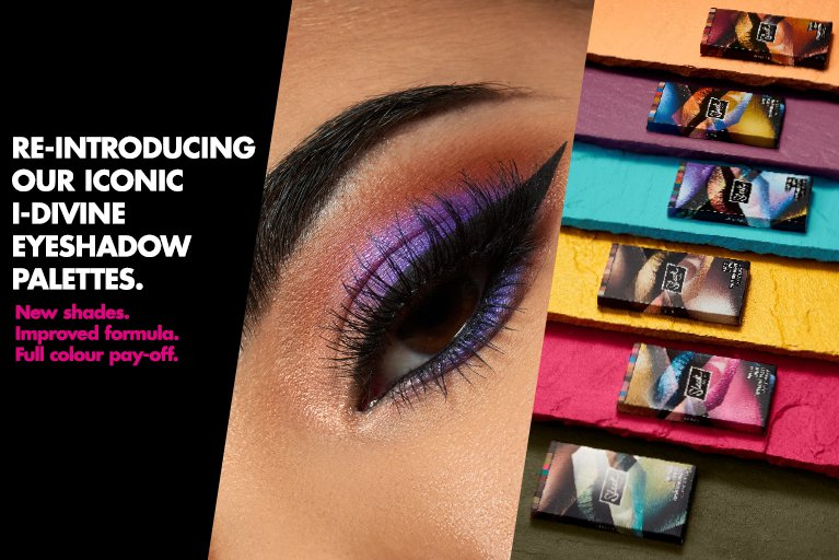 Sleek makeup new i-divine eyeshadow palettes