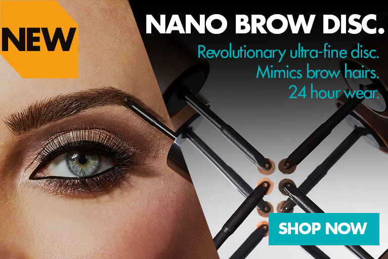 Sleek makeup nano brow eyebrow disc