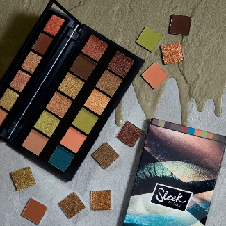 Sleek makeup i-divine eyeshadow palette grounded