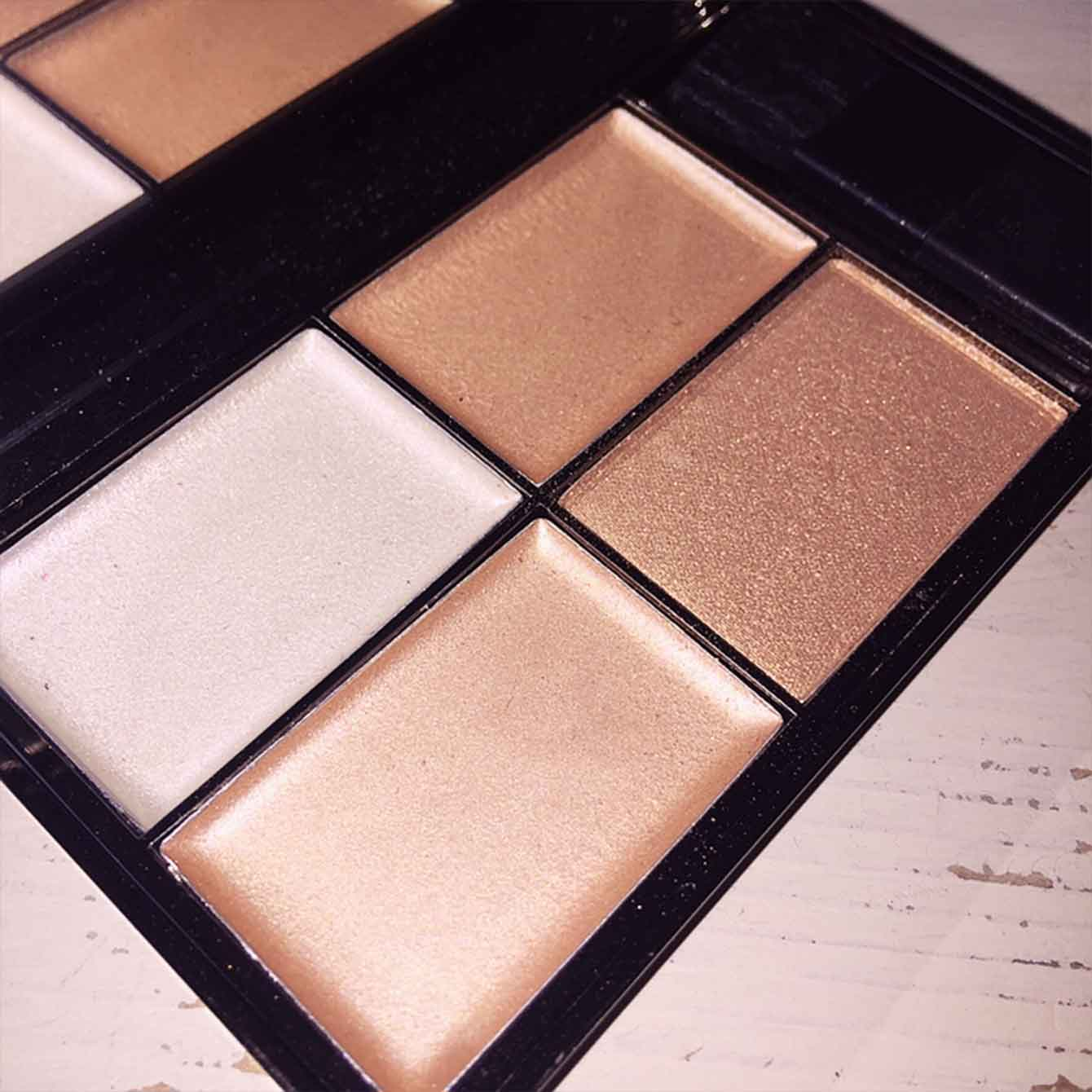 Highlighter Palette Precious Metals Sleek Makeup