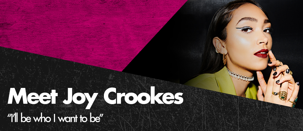 Sleek make up meet joy crookes