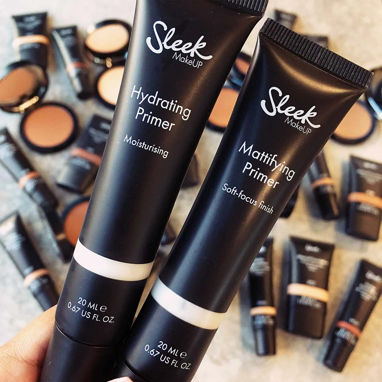 Matte Hydrating Primer Sleek Makeup Collection