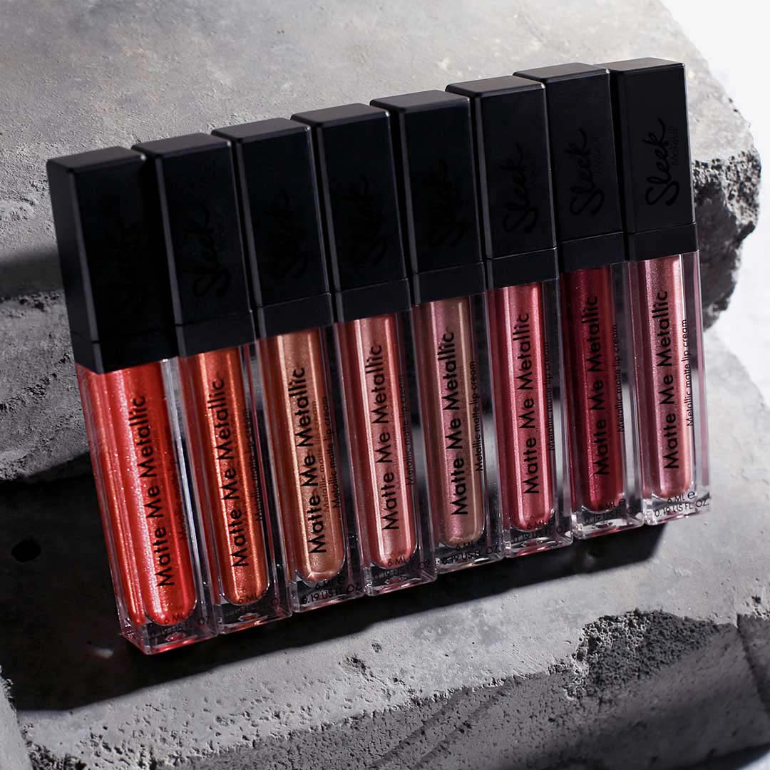 Sleek Makeup Matte Me Metallics Collection Closed