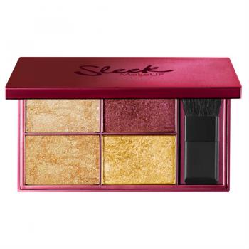 Sleek makeup fire it up highlighting palette