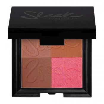 Bronze Block Dark Sleek Makeup
