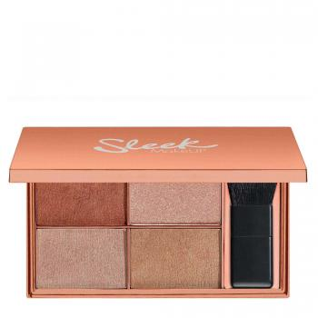 Highlighter Palette Copperplate Sleek Makeup