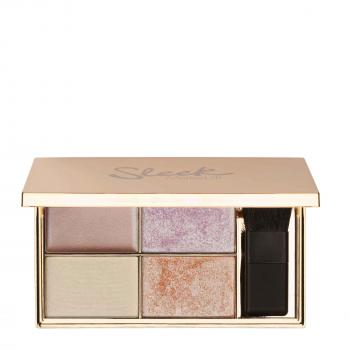 Highlighter Palette Solstice Sleek Makeup